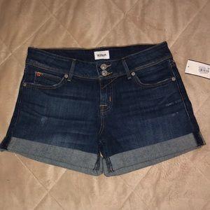 4bc454f75f4 Hudson Jeans Shorts - Hudson Jeans Croxley Mid-Thigh Denim Short